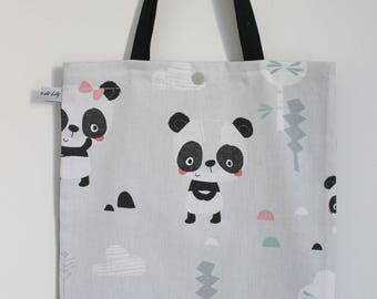 "Bag ""Tote bag"" panda-kids"