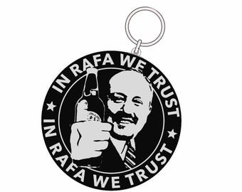 KEYRING - In Rafa We Trust