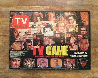 1984 Complete TV Guide's TV Game - Over 6000 TV Trivia Questions by Trivia Inc No 048