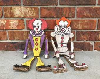 Stephen King's It Pennywise Cardboard Ragdoll