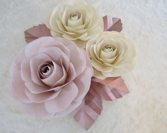 Paper Flower Backdrop***********CUSTOMIZE YOUR ORDER*************