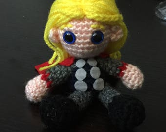 Thor Amigurumi Crochet Doll