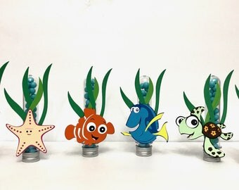 Finding Nemo Candy Tubes (6 pcs) | Party Favors |  Finding Dory Candy Tubes |
