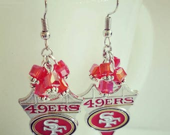 San Francisco 49ers Earrings