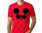 FLASH SALE Men's Disney Shirt - Mickey Mouse with Sunglasses Funny Men's Disney T Shirt Great for a Family Reunion or  trip to Disneyland or
