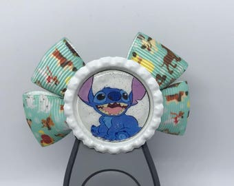 Disney Dogs Stitch Dooney and Bourke Magic Band Bow Hair Bow