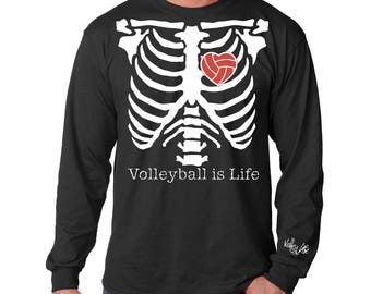 Volleylife® Volleyball is Life Long Sleeve T-Shirt