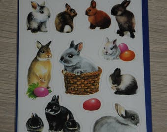 "three planks stickers themes ""rabbits"""