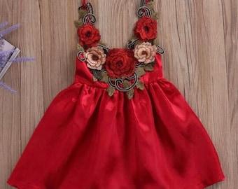 Alexandria floral dress