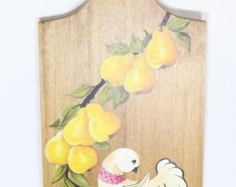 Bird In Pear Tree Charcuterie Board
