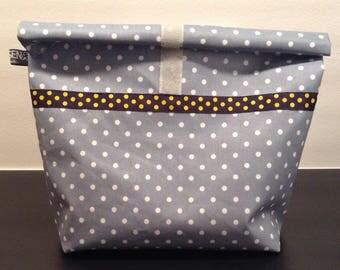 Lunchbag with dots