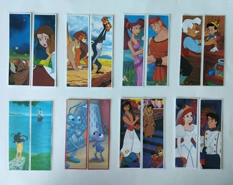 Set of Two Children's Disney Story Party Favor Bookmarks