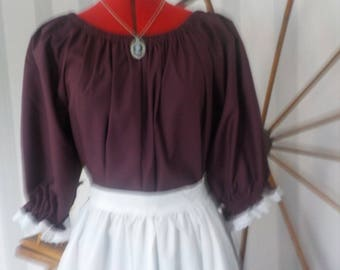 Civil war-pioneer  Lady's dress[Ready to Ship] Size Med. or Small