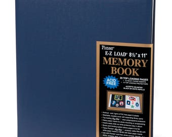 Pioneer® E-Z Load Memory Book - 8.5 x 11 inches - 20 pages - 3 ALBUMS