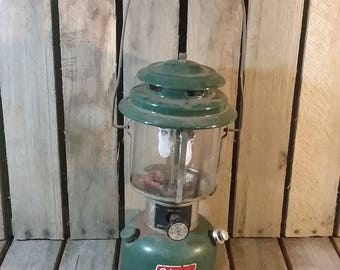 Vintage Coleman Lantern, Coleman Camping Lamp, Old Lantern, Kerosene Lantern, Lanterns, Camping Gear