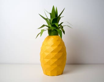 Pre-cut and Pre-scored Pineapple Kit - Low Poly