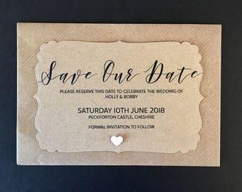 Wedding Save The Dates | Etsy