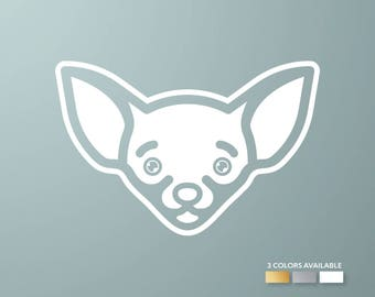Chihuahua Decal | Dog Decal