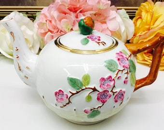 "Royal Stafford ""Blossom"" two cup teapot."