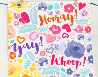 Congratulations card, Congratulations Wedding Card, Congratulations, Congratulations Baby, Congratualtions New Job,Congratulations Pregnancy
