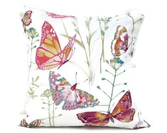 Butterfly Dreams – Living Room Décor, Home Décor, Bedroom Cushion, Housewarming Gift, Butterfly Cushion, Decorative Cushion, Cushion Cover
