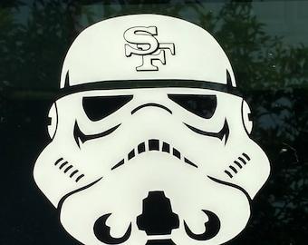 Sf Laptop Sticker Etsy - Star wars custom die cut stickers