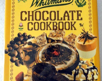 Vintage 1987 Whitman's Chocolate Cookbook•Recipes•Dessert Cookbook•Candy Cookbook•Advertising Cookbook•Baking Cookbook•Chocolate Recipes•