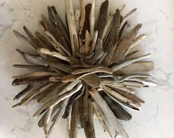 "11""  Driftwood Burst Wreath"