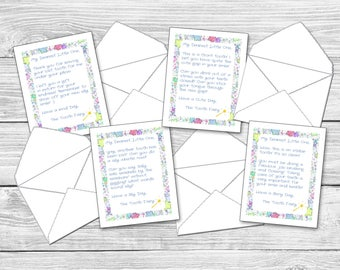 Tooth Fairy Letters & Envelopes Download