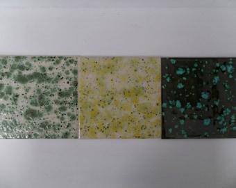 Hand Glazed Ceramic Trivet/Tile
