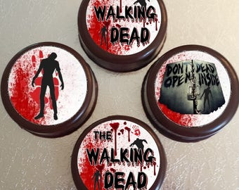 The Walking Dead Edible Images Cupcake, Cookie Toppers