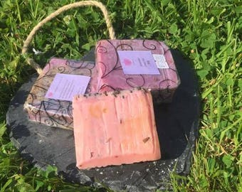 Handmade Lavender Soap Bar 80g