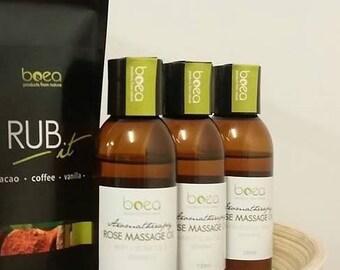 Aromatherapy Rose Massage Body Oil