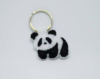 porte cl s panda animal peinture tableau id e. Black Bedroom Furniture Sets. Home Design Ideas