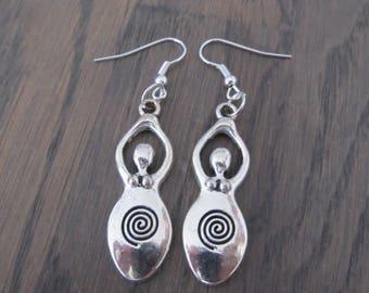 Earrings Goddess of fertility