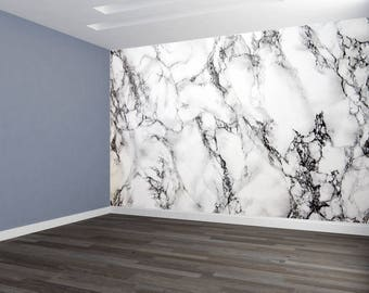 Wall Art Marble Version 2 Deep Pattern Accent Wallpaper HUGE Peel and Stick