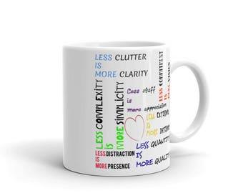 Less is More Minimalist Mug