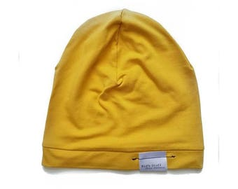 Bamboo Soft Beanie | Yellow
