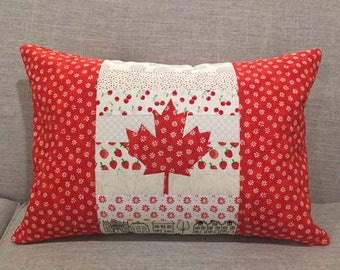 Canada Day Pillow