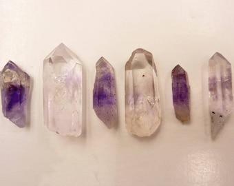 Brandberg Crystals Mixed Lot | Brandberg Amethyst | Brandberg Quartz | Brandberg Harlequin Quartz | Amethyst | Namibia | 17 grams