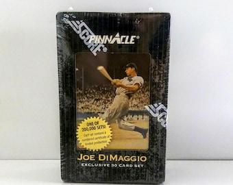 Sealed 1993 Joe DiMaggio Exclusive 30 Card Set