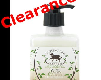 Coffee and cream lotion