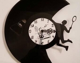 Vinyl 33 clock towers badminton theme