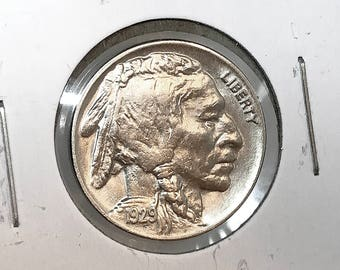 1929 P Buffalo Nickel - Gem BU / MS / UNC