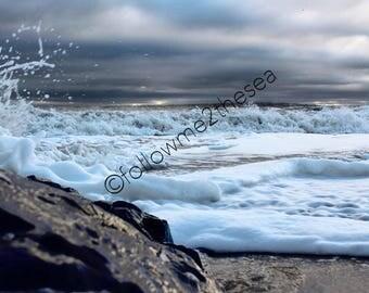 "Jersey Shore Storm photo~ ""Nature's Fury"""