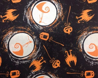 Disney Fabric — New Fabric Added! — Tim Burton's The Nightmare Before Christmas Fabric from Camelot Fabrics (5 Options)
