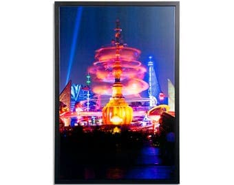 "Fine Art Photography ""Tomorrowland"" Framed Stretched Canvas"