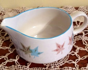 FRANCISCAN China 1958-61 Sycamore Creamer Gladding McBean USA Pottery Vintage