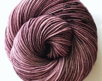 Fingering, Speckled, Hand Dyed Yarn, 100% SW Merino, 100 grams/438 yards *Molly*
