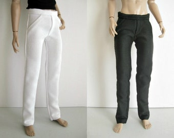 "Pants Jeans for 12"" male dolls Fashion Royalty, Color Infusion, Industry, Dynamite boys, Nuface - doll outfits clothing homme"
